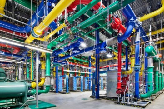 THEME: Odd buildings: Inside Google Data Center (more data!)