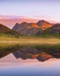 Sunrise at Blea Tarn, Lake District, UK