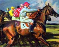 Study of Jockeys at the Start