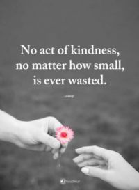act of kindness