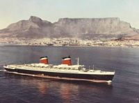 SS United States at Cape Town