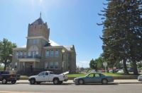 Huerfano County Courthouse In Walsenburg, Colorado