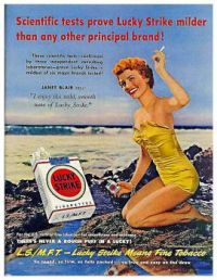 Vintage ad - Lucky Strike