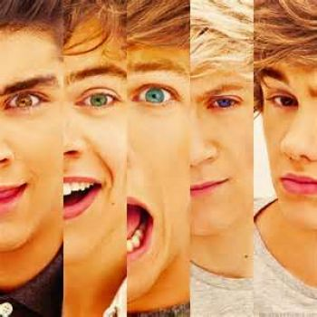 one direction faces!!!!!