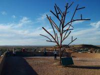 Coober Pedy's Metal Tree, South Australia