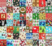 CHRISTMAS PATCHWORK FROM THE UK