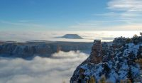 Grand Canyon with Cloud Inversion