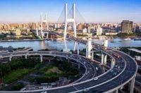 Shanghai's Nanpu Bridg