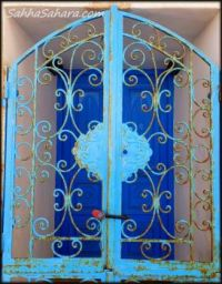 Blue on blue, Tunisia