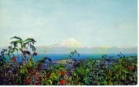 Mount Redoubt From Homer, Alaska 1959