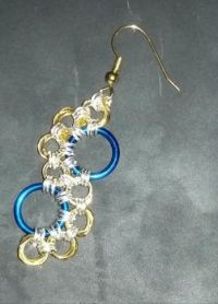 Chainmail Earring (L)