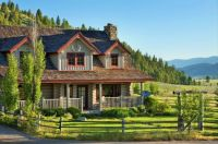 House in the Valley -- Montana...