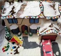 Simpson's gingerbread house