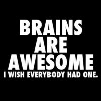 Brains are awesome !