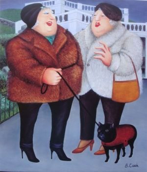 Beryl Cook - Walkies