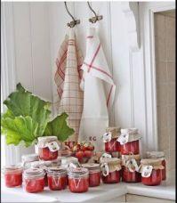 Strawberry and Rhubarb Jams