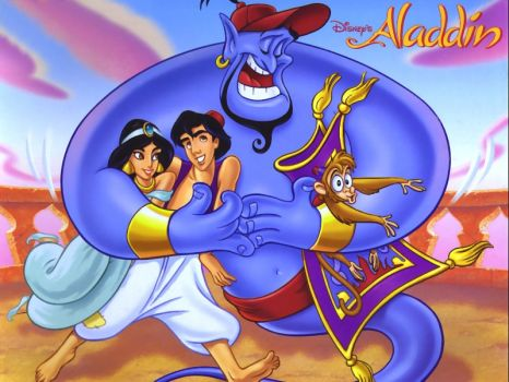aladdin and friends