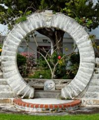 Bermuda moongate.