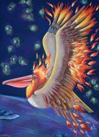 Pelican as Firebird