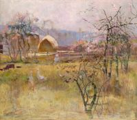 The Farm, Ricmond, NSW Charles Conder 1888