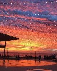 Sunset Henley Square S Australia