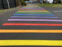 Rainbow Crossing at Wellington High