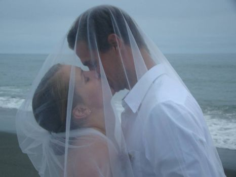 saturday's saturday's wedding on the ocean--congratulations you two