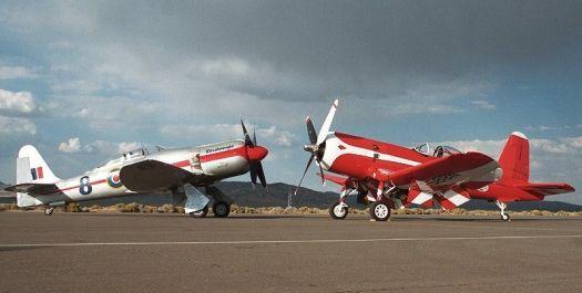 Dreadnaught and Corsair at Reno