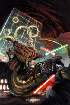 Star Wars: Oppo Rancisis Vs. Sora Bulq
