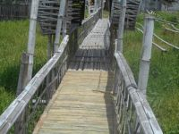 Bamboo utility Bridge