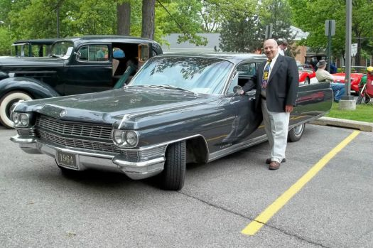 Jim with his 1964 Fleetwood Sixty Special