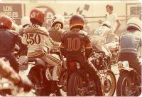 Pregrid at Ontario motor speedway  1978