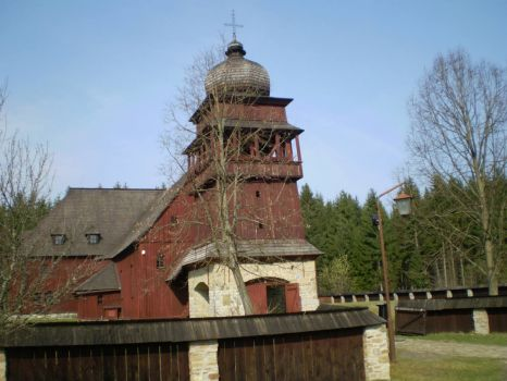 High Tatras Wood Church Slovakia
