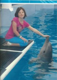 me at clearwater marine aquarium