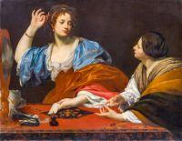 Martha blames her vain sister, Mary Magdalene