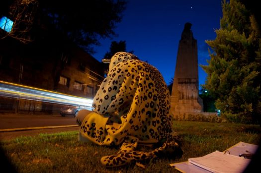 the city jaguar by José Toscano