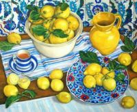 Still Life - Yellow and Blue