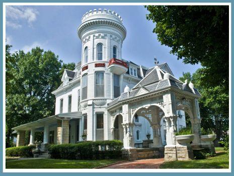 Evah C. Cray Mansion - Atchison KS,  1882