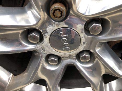 Jeep alloy corrosion
