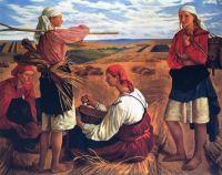 Zinada Serebriakova  Women at Work