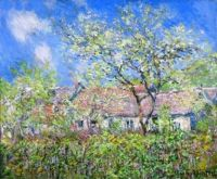 Claude Monet - Springtime at Giverny, 1886 (Apr17P38)
