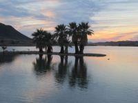 Sunset on Lake Mittry, Arizona