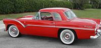 1955 Ford Thunderbird special edition prototype proposed with side trim