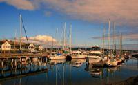 Port Townsend harbor at Point Hudson Marina