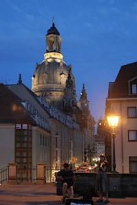 Dresden in the evening