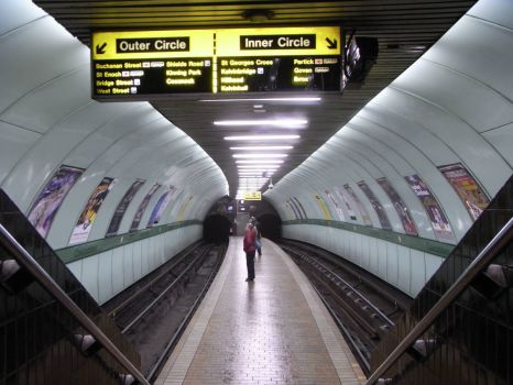 Glasgow Subway - Cowcaddens station