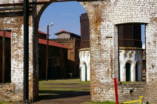 Savannah roundhouse yard