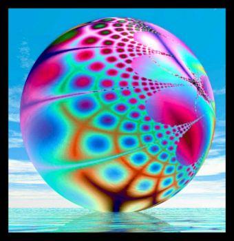 Fractal Ball - Ocean