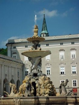 Nice Fountain in E. Europe 2002