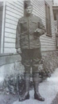 My Great Grandfather before he shipped out!!